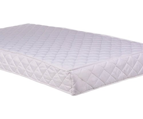 COT BED MATTRESS BREATHABLE FOAM MATTRESS COT BED Size 160cm x 70cm x 13cm (63x27x5 Inches) by clicktostyle