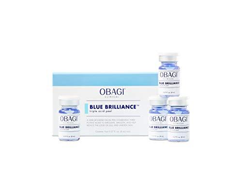 Obagi Clinical Blue Brilliance Triple Acid Peel 4 Piece Kit (0.27 Fl Oz Per Vial)