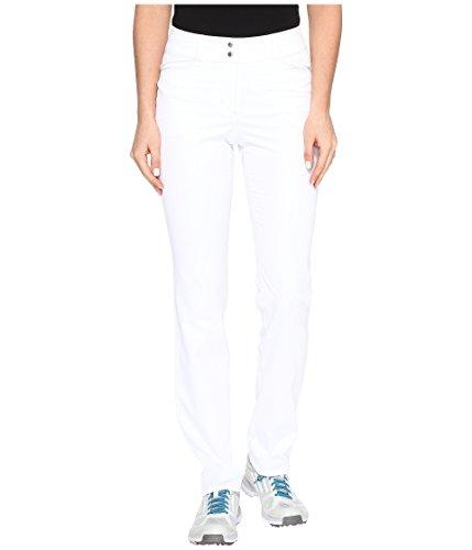 adidas Leichte Damenhose, Damen, Essentials Hose in voller Länge, Lite Khaki, Weiß, 14