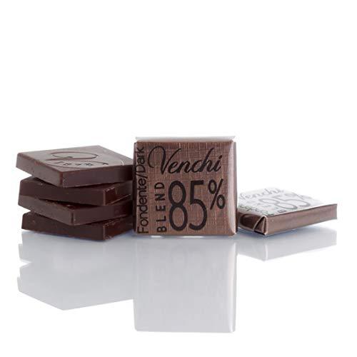 Venchi Cioccolatini Napolitans Puro Blend 85% Fondente g 500 - Senza Glutine - Piccoli cioccolatini di cortesia ideali per accompagnare il caffè