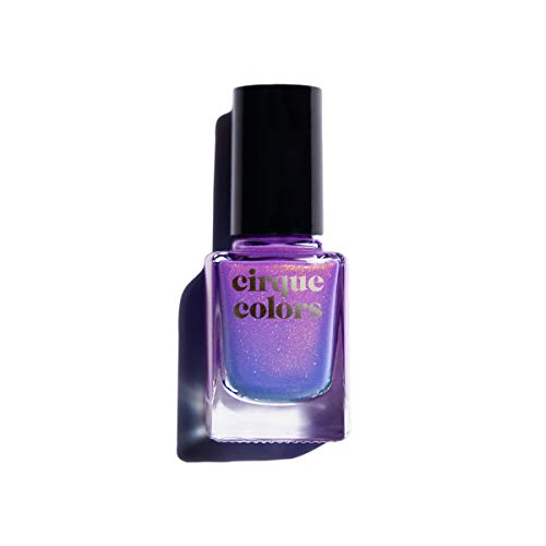Cirque Colors Thermal Temperature Color Changing Mood Nail Polish - 0.37 fl. oz. (11 ml) - Vegan, Cruelty-Free, Non-Toxic Formula (Terra)