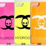 HYDROGEN iPhone5/5Sケース ピンク/210 イエロー/310 オレンジ/340 210-40089001 ハイドロゲン CCスカル HARD CASE GLOW IN THE DARK アイフォン 携帯 スマホ (イエロー/310) [並行輸入品]