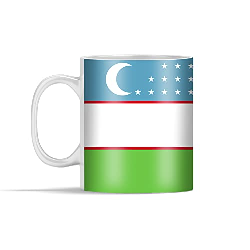 Tasse - Flagge Usbekistan - 350 ml