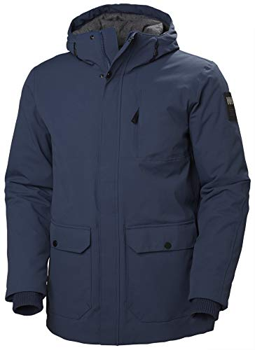 Helly Hansen Herren URBAN Long Jacket Winterjacke, 603 North Sea Blue, M