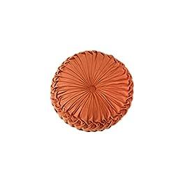 Augmenter Le Coussin de Chaise,Siège d'oreiller de Roue Ronde de Luxe léger Fait à la Main-Brown_40 * 11cm,Coussin de…