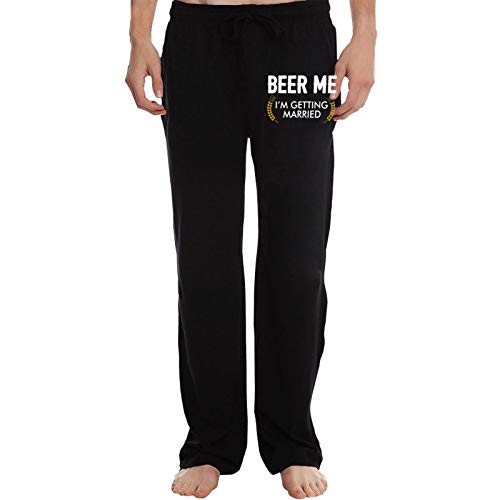 POYOMUK Beer Me, I'm Getting Married Mens Cotton J...