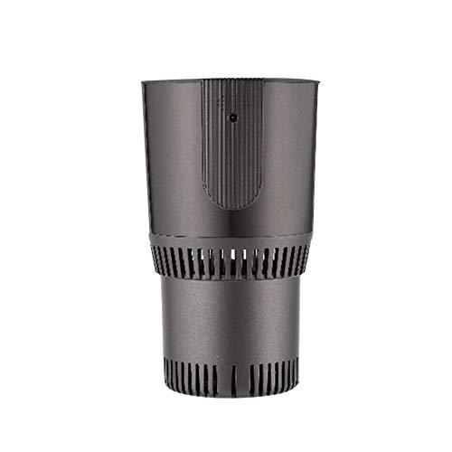 MIKLL 2 en-1 Taza Inteligente para Calentar/Enfriar,Taza de 12 V Inteligente para Escritorio,Fría y Caliente,Soporte eléctrico para refrigerar y Calentar Bebidas,Uso Doble en el hogar/automóvil