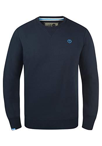 !Solid Benn O-Neck Herren Sweatshirt Pullover Pulli Mit Rundhalsausschnitt, Größe:S, Farbe:Insignia Blue (1991)