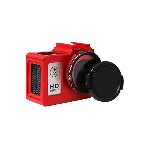 CAMERAACCESSORIES / SG169 Caja de protección de aleación de aluminio universal con 40,5 mm Filtro UV y cubierta de lente para SJCAM SJ4000 y SJ4000 WiFi y SJ4000 + WiFi y SJ6000 y SJ7000 Cámara de