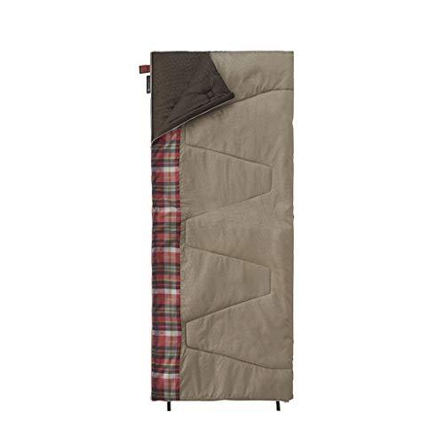 Sac De Couchage Anti-Sale Adulte Intérieur/Extérieur 4 Saisons Camping Tourisme Individuel Portable Bas Coton (Couleur : A)