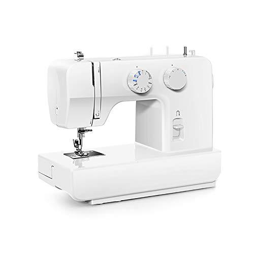 Wenko multifunctionele naaimachine, elektrisch, met nachtlampje, pedaal en accessoirebox, voor kleding, gordijn