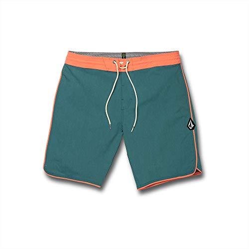 Volcom Men's Barnacle Stoney 19' Boardshort Board Shorts, Hydro Blue, 36A