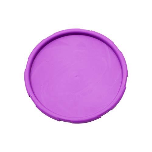 ETLEE Haustier Spielzeug Hund Frisbee Naturkautschuk Schwimmer-Gummi Spielzeug aus Naturkautschuk mit einem Durchmesser von 15 cm-Wasser Spielzeug und Schwimmspielzeug für große und kleine Hunde