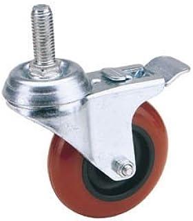 Draper 65521 100mm Dia. draaibare bout bevestiging polyurethaan wiel met rem