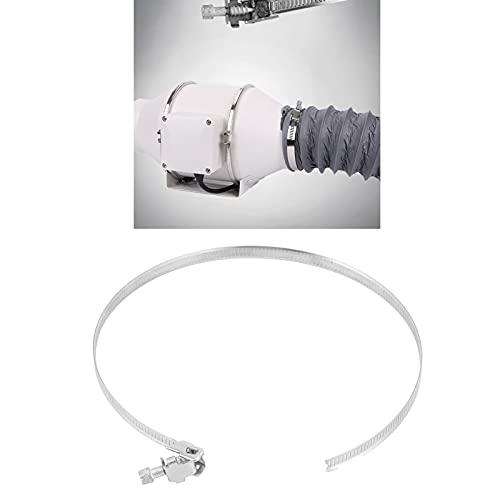 Meiyya Abrazadera para conductos, Abrazadera para conductos de ventilación de Alta dureza para el hogar para conductos de ventilación(125~165mm)