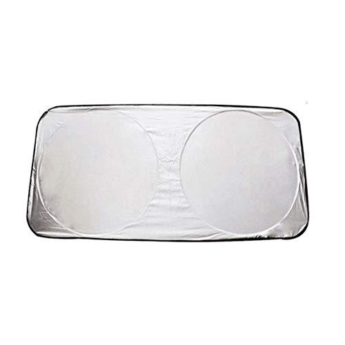 CVBN Protector Solar para Coche, Archivo Frontal, Aislamiento térmico, Protector Solar, paño 150 * 70 cm, Plateado