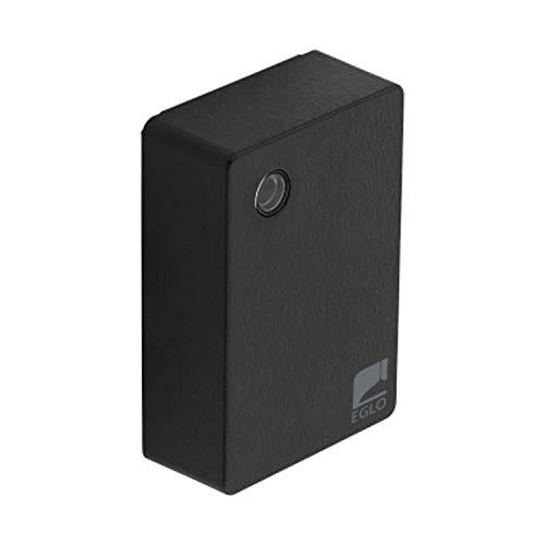 EGLO Sensor Detect me 5, Bewegungssensor aus Kunststoff, Farbe: Schwarz, inkl. Tageslichtsensor, IP44