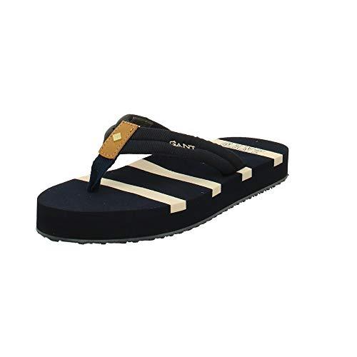 GANT Footwear Damen ST BART Zehentrenner, Blau (Marine G69), 41 EU