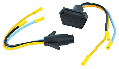 attwood 7622-7 3-Wire 12V/24V Trolling Motor Connector, 10 Gauge, Multiple, One size