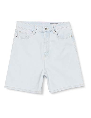 edc by Esprit Damen 040CC1C303 Jeans-Shorts, 904/BLUE Bleached, 29