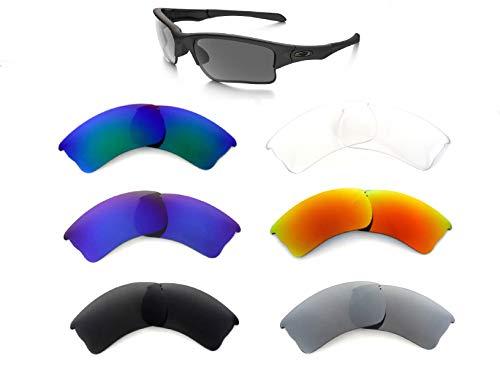 Galaxy Replacement Lens Voor Oakley Quarter Jacket Zonnebril 5 Pairs Speciale aanbieding!