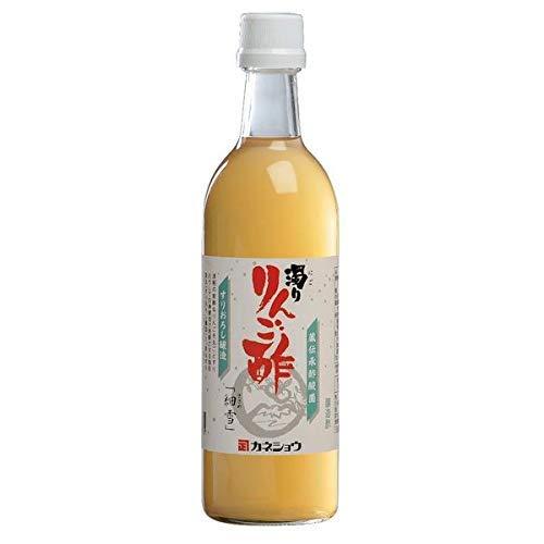 カネショウ 蔵伝承酢酸菌 濁り りんご酢 「細雪」 500ml×12本