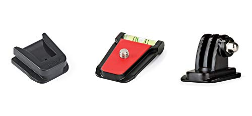 Joby Quick Relase Plate, QR Plate, Pack 3K Black, Compact (JB01554-0WW)