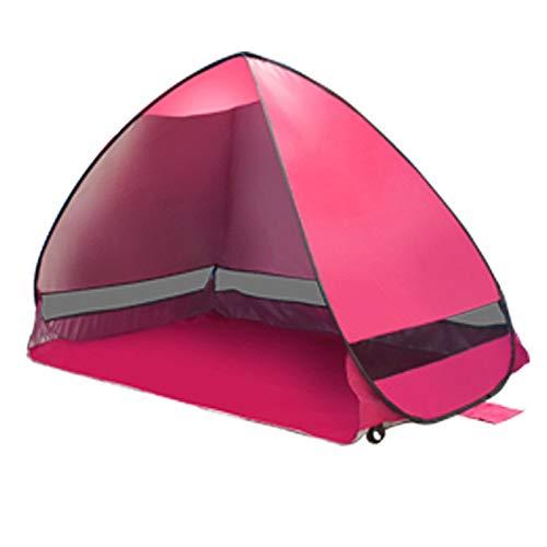 Ai-lir Event Zelt Außerhalb des Popupzelts Ultralight Beach Zelte Schutzhütte-Roboterzelt-Farbton (Color : Pink)
