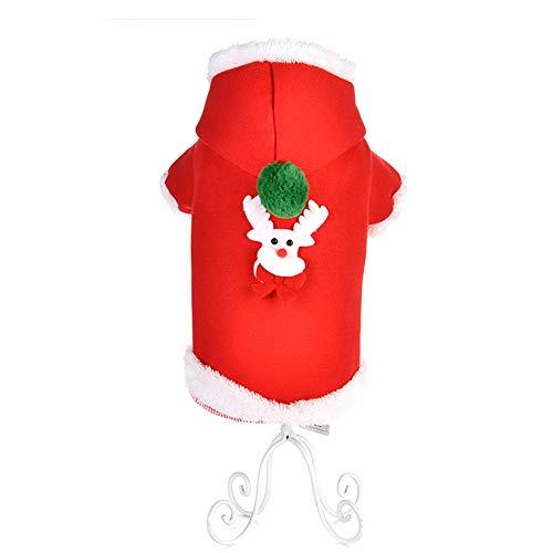 Neuheit Weihnachten Haustier Hund Kostüm Warme Kleidung Handsome Man Weihnachten Pullover für Tiere (Size.l, Typ 2)