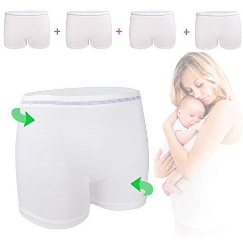 Mesh Post-Delivery High-Waist Maternity Panties by Hansilk | Amazon