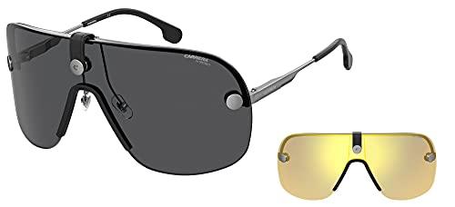 Carrera Gafas de sol CA EPICA II KJ1 / 2K Gafas de sol unisex color Gris plateado tamaño de lente 99 mm