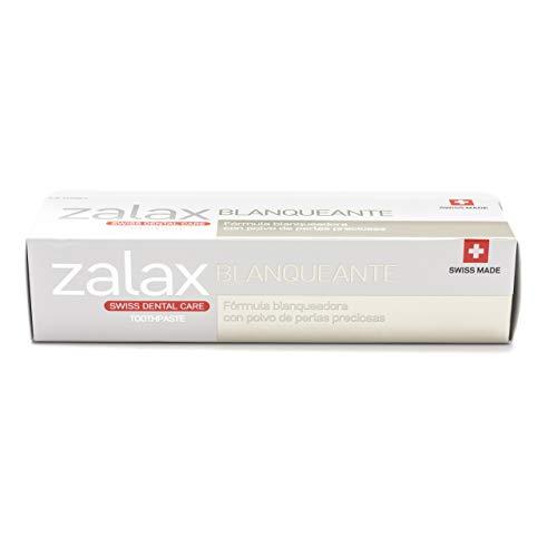 Pharmex - Zalax - Pasta De Dientes Blanqueadora - Ayuda A Eliminar Las Manchas Y Prevenir Su Aparición - Con Polvo De Perlas Preciosas - 100 ml