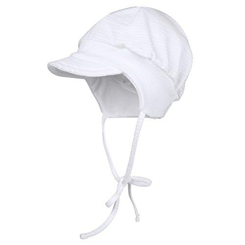MAXIMO Mütze Baby-Mütze, Größe 45, weiß