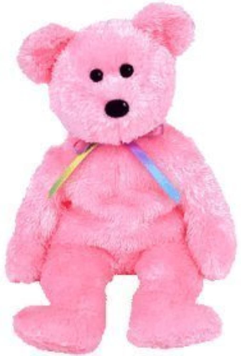 TY Beanie Baby  SHERBET the Bear (Pink Version) by Ty by Ty
