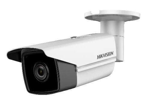 Hikvision Digital Technology DS-2CD2T85FWD-I8 Überwachungskamera, IP, Kabelfuß, weiß, 3840x2160Pixel