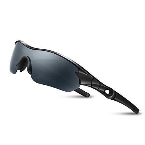Bea Cool - Occhiali da sole sportivi da uomo, polarizzati, con protezione UV400 TAC e montatura in...