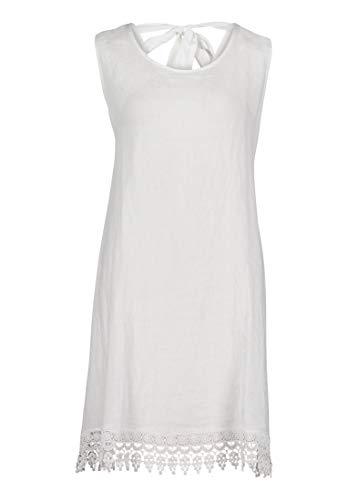 Cartoon Damen 1062/7384 Kleid, Weiß, 42