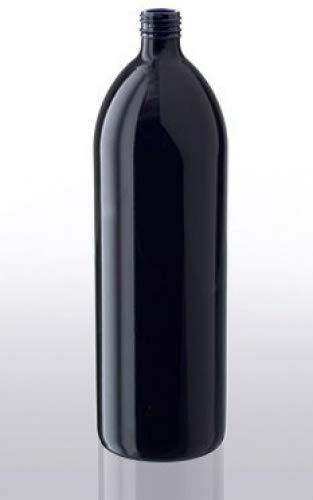 Miron violett-Glas,1 Liter, Lichtschutz Wasserflasche 1 x 1000ml (1 x 1000ml)