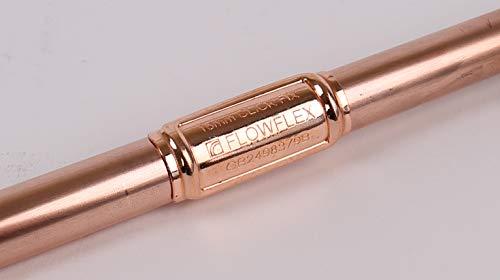 Flowflex B270.39 - Parche de reparación para tuberías de escape, cobre/latón, 15...