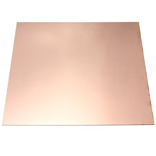 EsportsMJJ 0.8M * 100 mm * 100 mm Puro Cobre CU Chapa De Metal Placa