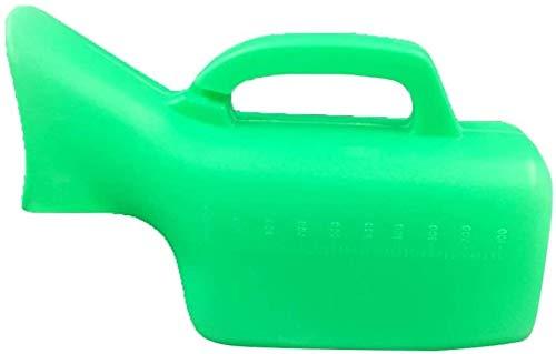 JNY Tragbare Urinal Pissoir tragbare Damen Pissoir mit Einer Kapazität von 1000 ml, umweltfreundliche Kunststoffmaterial for ältere Menschen Reise dicht Urinal