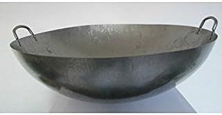 Poêle Wok en acier artisanale 51 cm