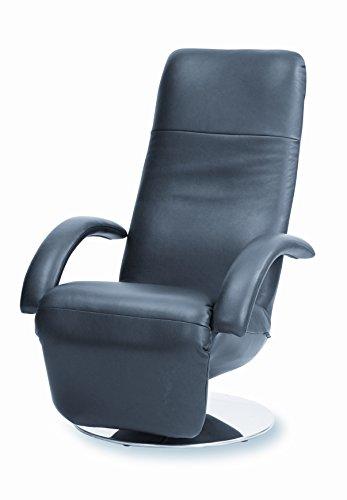 Strässle Wohnen Möbel der Extraklasse in schöner Optik - Relaxsessel Fernsehsessel Daniel in Leder schwarz - EIN Angebot von WELCON und sessel-24.de