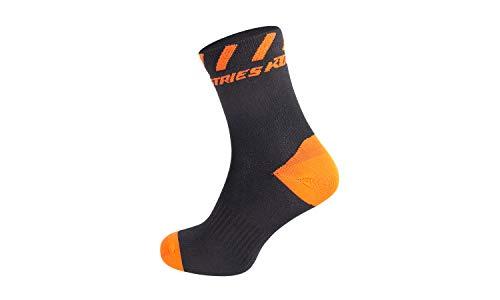 KTM Socken Factory Line 2021 Schwarz/Orange. 36-39