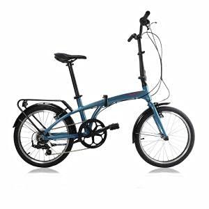 Monty Bicicleta Plegable Source Azul Oscuro