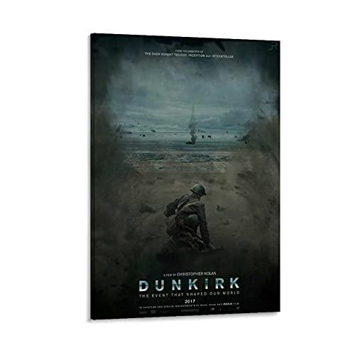 TRJH Good Movie Poster Dunkirk Leinwand-Kunst-Poster und Wandkunstdruck, modernes Familienschlafzimmerdekor, 30 x 45 cm