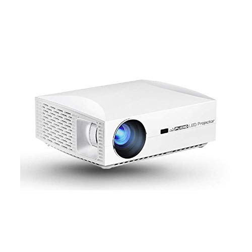 Mini Portable Video Projector Mini Projector, 1080P Projector F30 Home Theater, Best Projection Distance 400cm, Speaker Portable Projector, Compatible With HDMI, USB, VGA, TF, PS4, Laptop, TV Stick, H