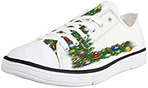 Canvas Sneaker Low Top Shoes,Letter L,Butterfly L Letter Alphabet Animal Themed Color Palette Image Font Design Decorative
