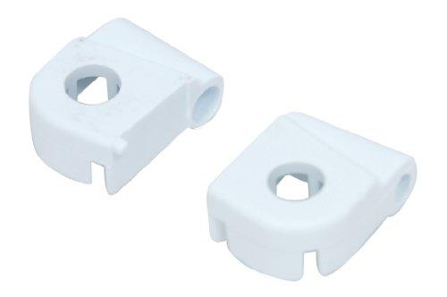 Ariston C00118056 Waschmaschinenzubehör/Türen/Beko Creda Electra Eurotech Hotpoint Indesit Waschmaschine Türscharnier oben & unten