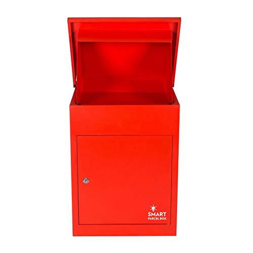 Paketbriefkasten Smart Parcel Box, rot - 4